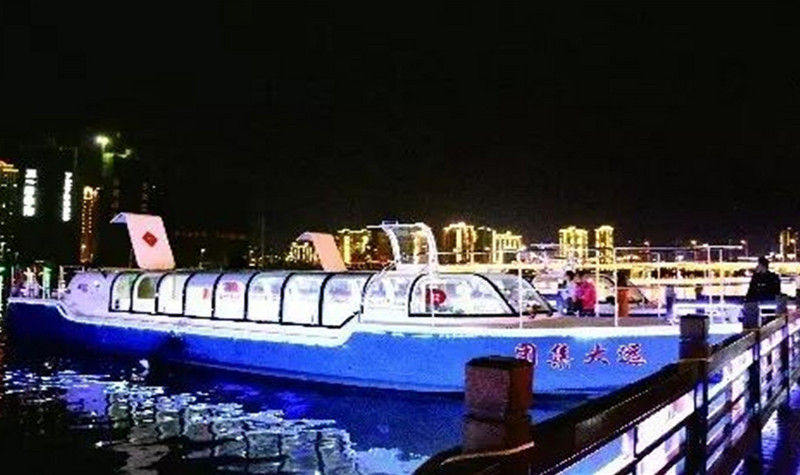 穿紫河游船