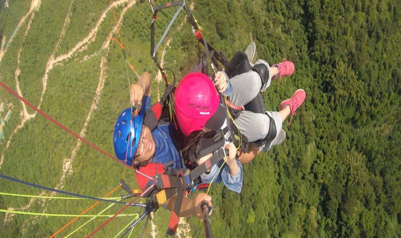 长泰滑翔伞体验俱乐部