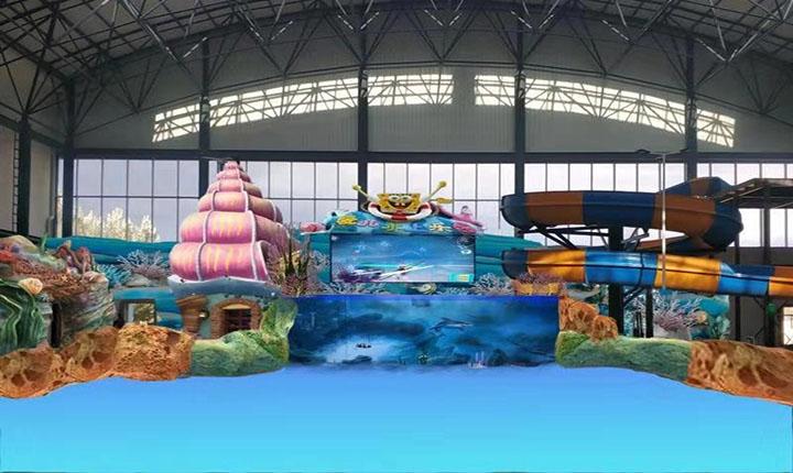 海魔方水上乐园