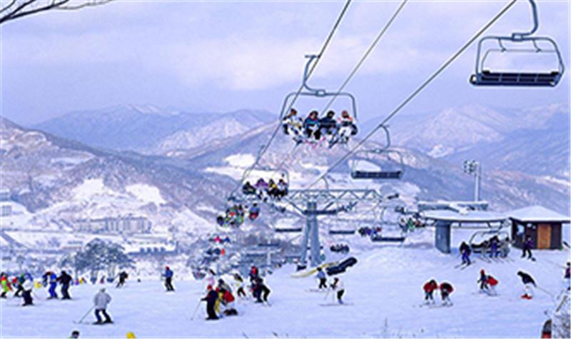 怪坡滑雪场