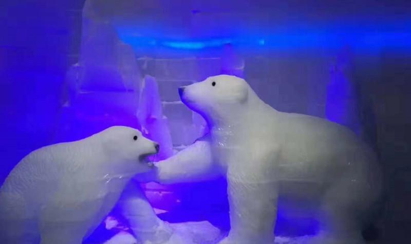 台儿庄欢乐堡冰雪大世界