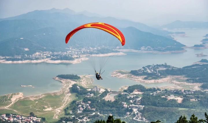 泉州九都滑翔伞飞行基地(壮志滑翔俱乐部)