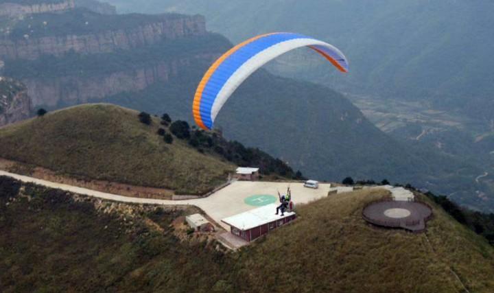 林州滑翔伞基地