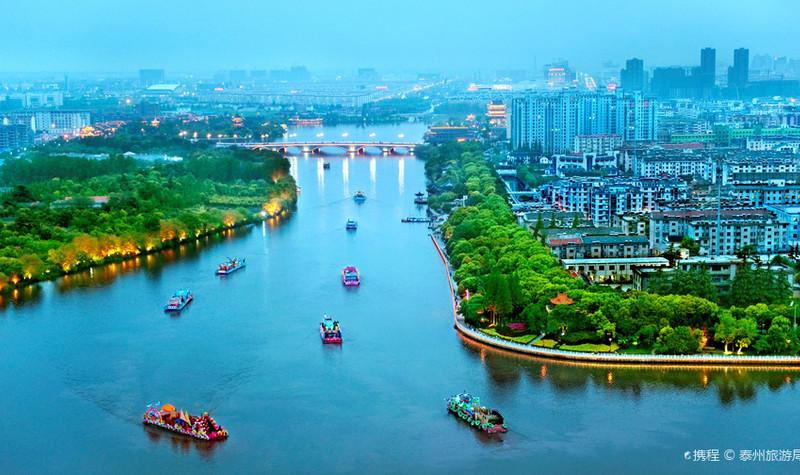 泰州凤城河风景区