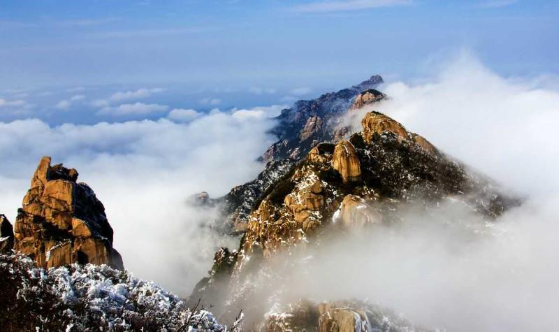 九子岩(九华山后山)