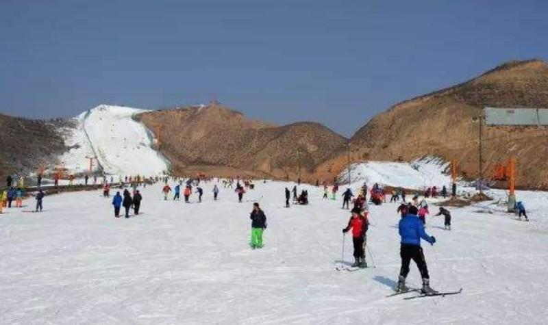 兰州安宁大青山滑雪场