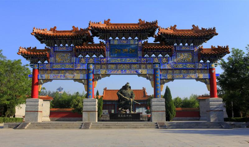 芒砀山旅游区刘邦斩蛇处