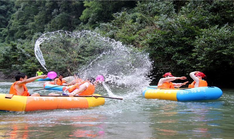 杉木河漂流