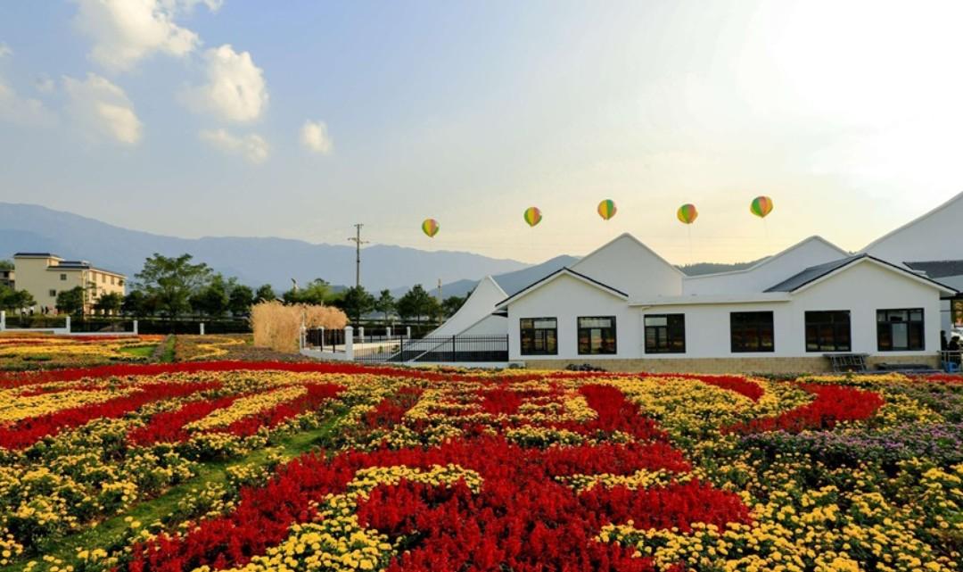 武功山花涧里现代农业观光园