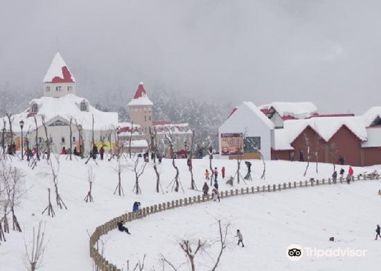 美洲四季滑雪场景区