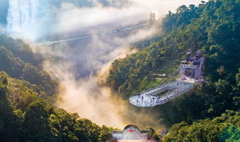 古龙峡玻璃大峡谷-云天玻霸