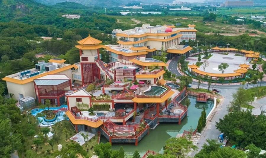 广东东山湖温泉度假村