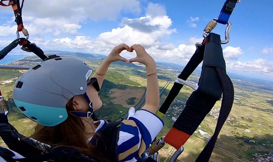 红角岭国际滑翔伞飞行营地