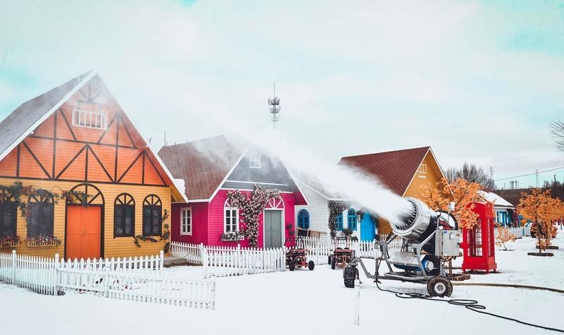 莱芠小镇雪王国