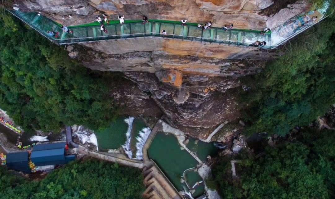 佛宝山大峡谷漂流